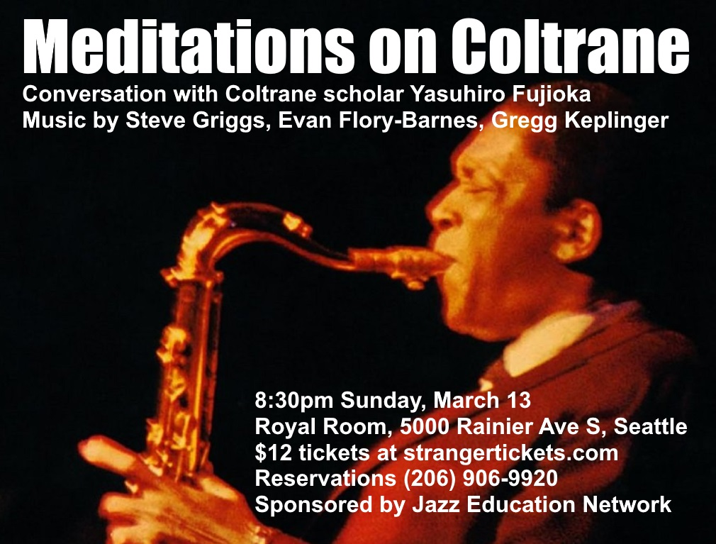 Meditations on Coltrane print