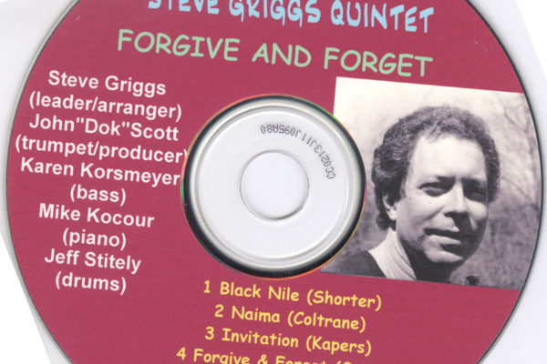 John Scott and Steve Griggs Forgive and Forget